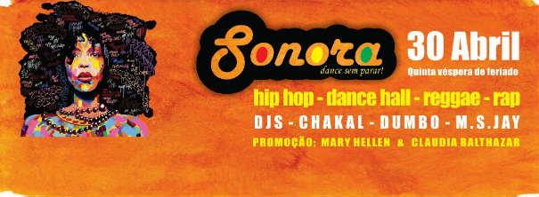 Sonora Dance sem parar abril 2015
