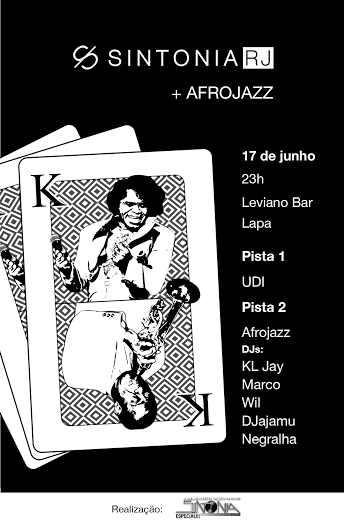 AfroJazz se apresenta na Festa Sintonia no Rio de Janeiro_ARTE