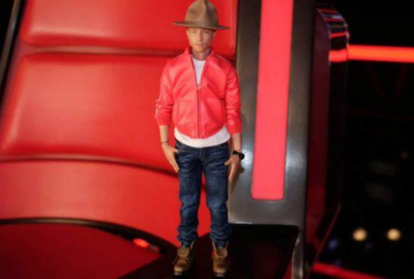 Empresa japonesa cria boneco hiperrealista de Pharrell Williams