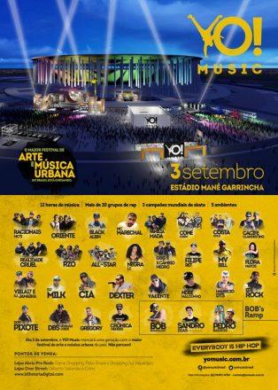 Brasília recebe Yo Music 2016