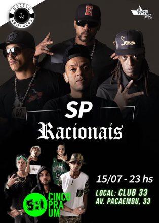 Racionais MC's faz show no Club 33 em SP