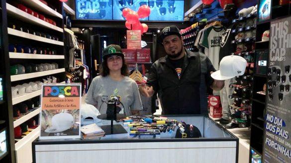 FamilyArtBr Crew participa de Custom Day na New Era Store