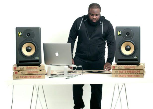 Pizza Hut edição limitada de pick ups de DJ