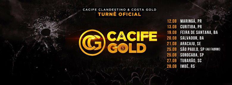 Turnê Cacife Gold 2016