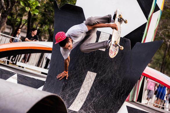 Conheça a Perimetrava, a escultura skatável instalada no Rio de Janeiro