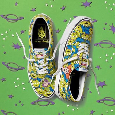Vans anuncia linha de sneakers com design inspirados em Toy Story
