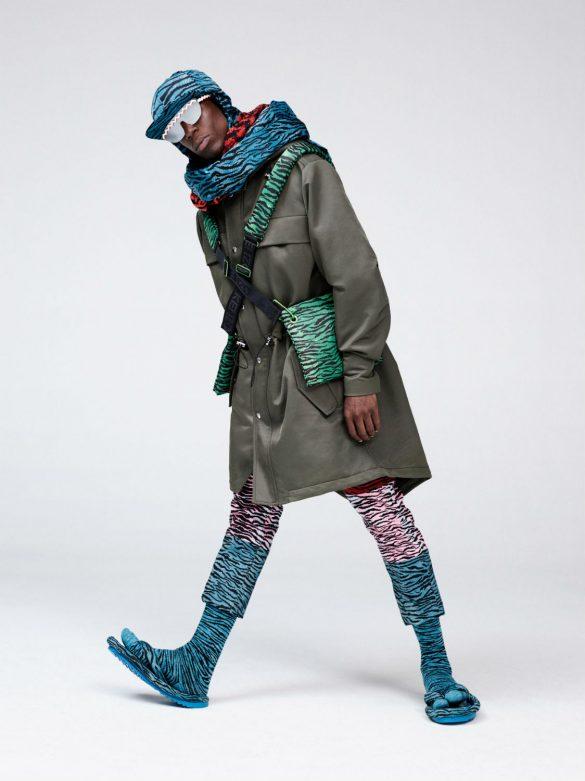 H&M e Kenzo investem em peças de Streetwear com estampas animais