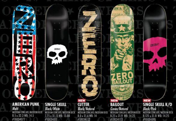 ZeroSkateBoards lança shapes de skate comemorativos do Halloween