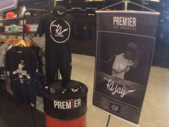 DJ KL Jay, do Racionais MC's assina linha de camisetas e bonés da Prem1er