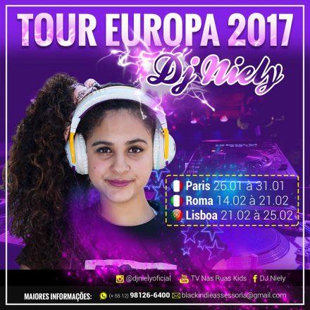 DJ Niely anuncia turnê internacional