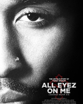 Poster Tupac - All Eyez On Me Legends Never Die