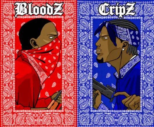 Crips e o Bloods