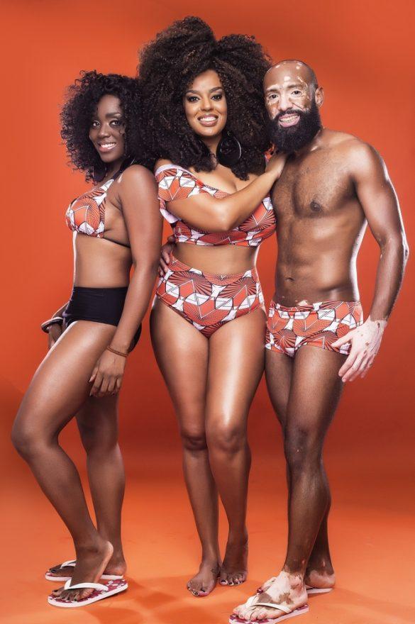 Fruto do empreendedorismo afro, grife Íyá Iyá Teresa busca inspiração no norte da África e lança primeira coleção de moda praia